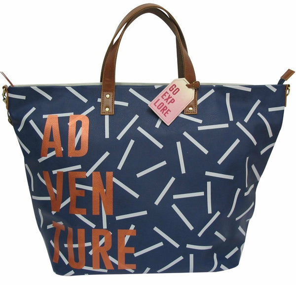 Disaster Designs Jet Lag Weekender Bag: Adventure<br><MARK>WE'VE TAKEN 20% OFF!