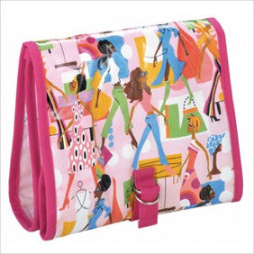 Julie Slater Hanging Toiletry Bag: Girl About Town - Jetsettr.com.au - 1