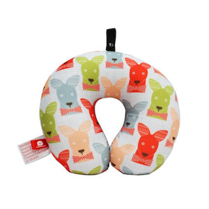 DQ & Co. Quirky Family Travel Pillow: Mr. Kangaroo [Bead Filled] - Jetsettr.com.au - 1