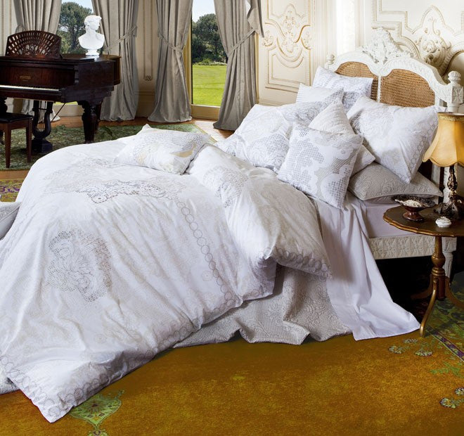 KAS Ayida Multi QUEEN Quilt Cover Set - Jetsettr.com.au
