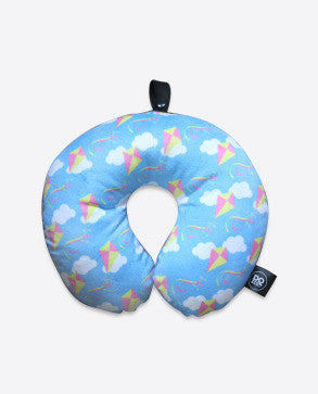 DQ & Co. Kids Travel Pillow: Dancing Kites - Jetsettr.com.au - 1