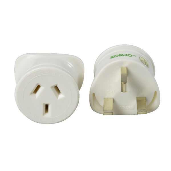 Korjo Travel Adaptor Australia > United Kingdom - Jetsettr.com.au - 1