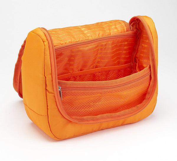 La Poche Travel Toiletry Organiser Bag | Orange - Jetsettr.com.au - 2