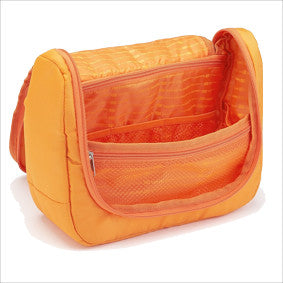 La Poche Travel Toiletry Organiser Bag | Orange - Jetsettr.com.au - 3