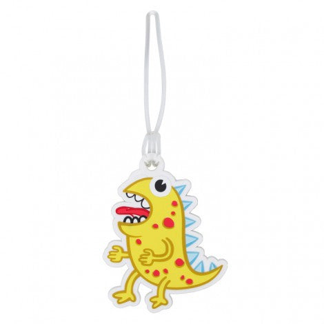 DQ & Co. Kids Luggage Tag: Monster Smellow - Jetsettr.com.au - 3