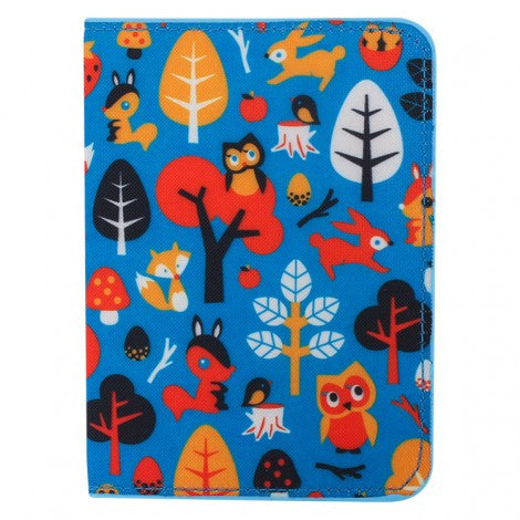DQ & Co. Fun Love Passport Cover: Woodland Fantasy - Jetsettr.com.au - 3