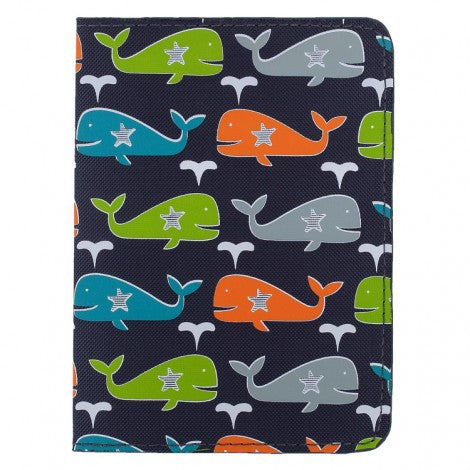 DQ & Co. Fun Love Passport Cover: Whale Splash - Jetsettr.com.au - 5