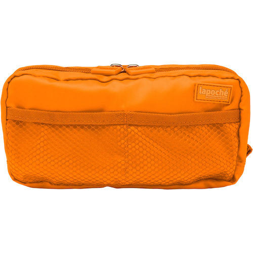 La Poche Toiletry Organiser | Wet-Pack | Orange - Jetsettr.com.au - 2
