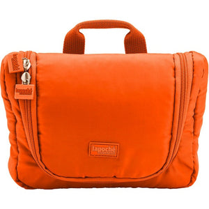 La Poche Travel Toiletry Organiser Bag | Orange - Jetsettr.com.au - 1