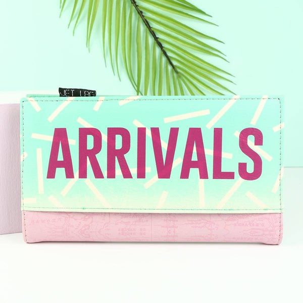 Disaster Designs Jet Lag Travel Wallet: Departures<br><MARK>WE'VE TAKEN 20% OFF!