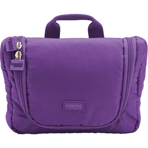 La Poche Travel Toiletry Organiser Bag | Purple - Jetsettr.com.au - 1