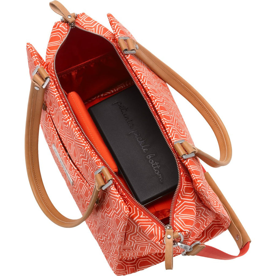 Petunia Pickle Bottom Statement Satchel - Paprika - Jetsettr.com.au - 3