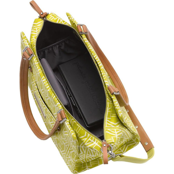 Petunia Pickle Bottom Statement Satchel - Electric Citrus