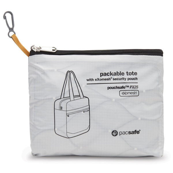 pacsafe Pouchsafe™ PX25 anti-theft packable tote - Jetsettr.com.au - 2