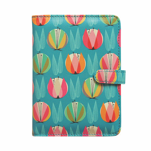DQ & Co. Passport Wallet: Tulip Fields