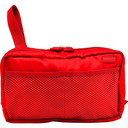 La Poche Toiletry Organiser | Wet-Pack | Red - Jetsettr.com.au - 1