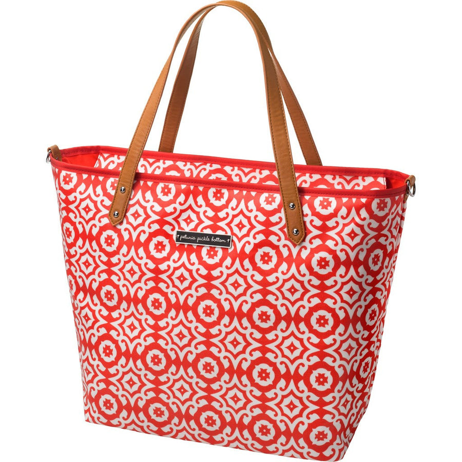 Petunia Pickle Bottom Downtown Tote - Relaxing In Rimini - Jetsettr.com.au - 1
