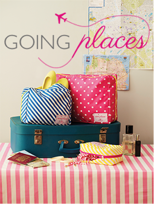 Bombay Duck Going Places Packing Cell : Luggage Organiser - SMALL (18 x 12.5 x 8.5cm) - Jetsettr.com.au - 2