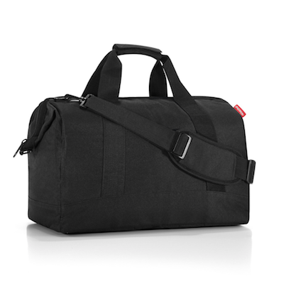 Reisenthel Allrounder L Travel Bag: Black - Jetsettr.com.au - 1