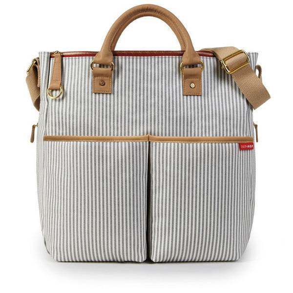 Skip Hop Duo Special Edition Nappy Bag: French Stripe - Jetsettr.com.au - 1