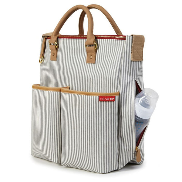 Skip Hop Duo Special Edition Nappy Bag: French Stripe - Jetsettr.com.au - 3