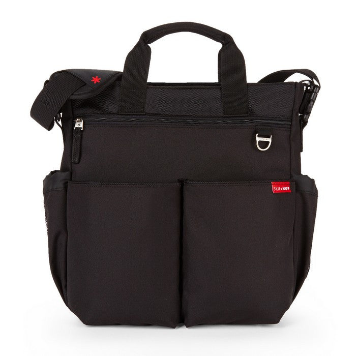 Skip Hop Duo Signature Nappy Bag: Black - Jetsettr.com.au - 1