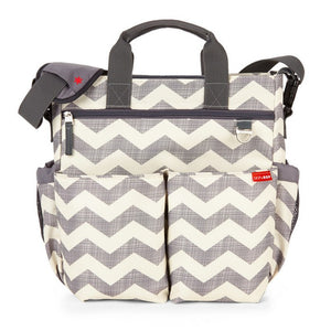Skip Hop Duo Signature Nappy Bag: Chevron - Jetsettr.com.au - 1