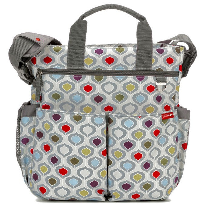 Skip Hop Duo Signature Nappy Bag: Multi Pod - Jetsettr.com.au - 1