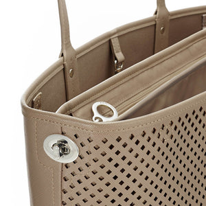 Skip Hop Duet 2-in-1 Tote Nappy Bag: Taupe - Jetsettr.com.au - 6