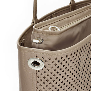 Skip Hop Duet 2-in-1 Tote Nappy Bag: Taupe - Jetsettr.com.au - 7