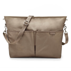 Skip Hop Duet 2-in-1 Tote Nappy Bag: Taupe - Jetsettr.com.au - 4