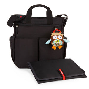 Skip Hop Duo Signature Nappy Bag: Black - Jetsettr.com.au - 3