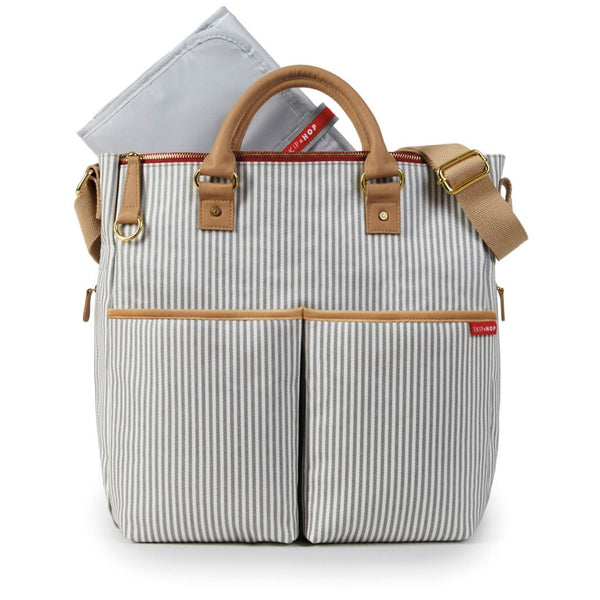 Skip Hop Duo Special Edition Nappy Bag: French Stripe - Jetsettr.com.au - 2