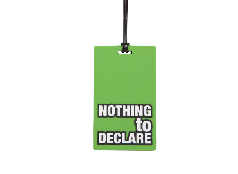 AT Travel Luggage Tag: Nothing To Declare - Jetsettr.com.au - 1