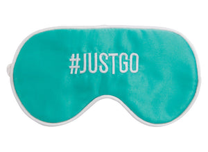 Annabel Trends Travel Eye Mask: #JUSTGO - Jetsettr.com.au