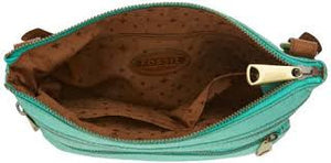 Fossil Explorer Crossbody Bag: Mint - Jetsettr.com.au - 4
