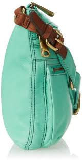 Fossil Explorer Crossbody Bag: Mint - Jetsettr.com.au - 3