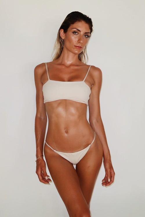 ALLURE BIKINI BOTTOMS - CREAM