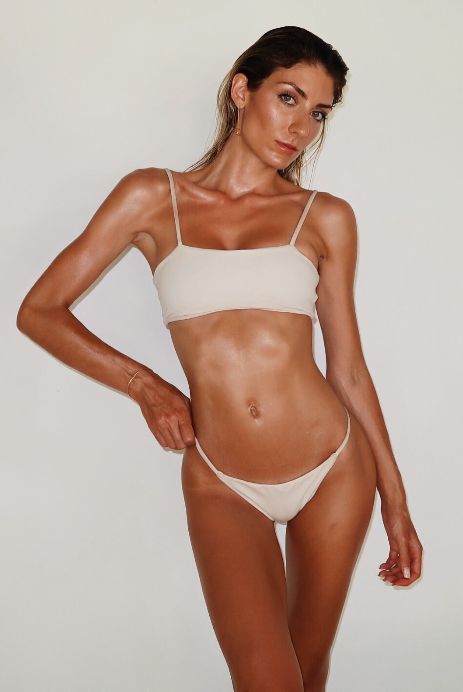 ALLURE BIKINI TOP - CREAM