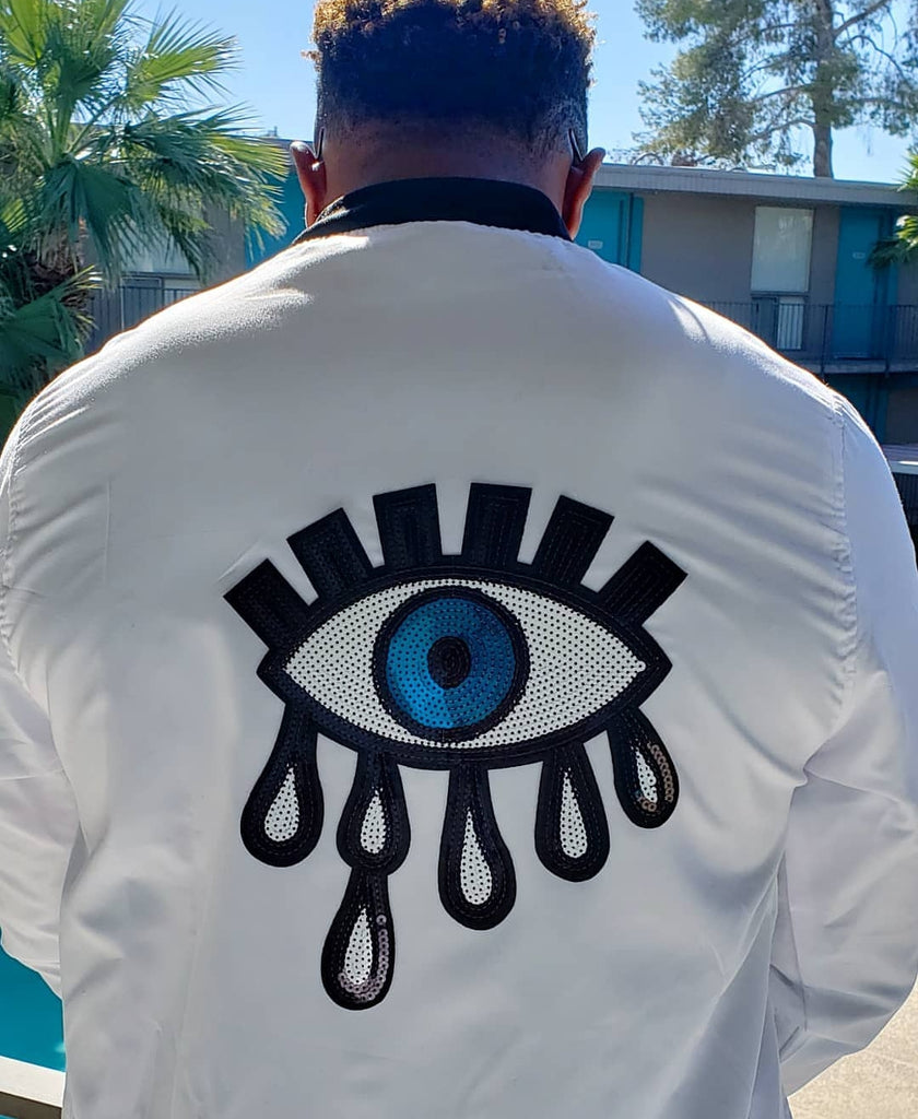 The Ojo Light Bomber Jacket