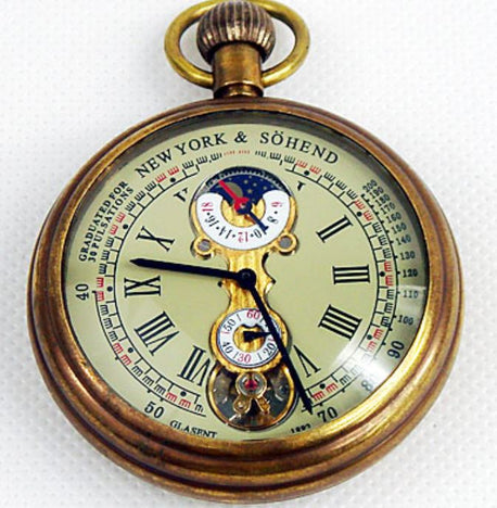 Vintage Mechanical Pocket Watch