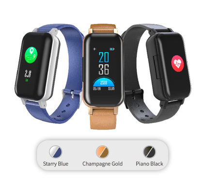 Fitness Smart Watch With Bluetooth Headphones Built In