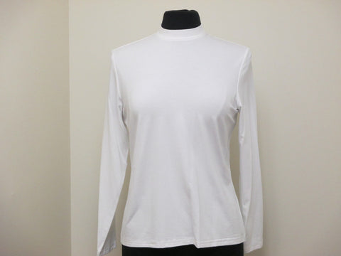 OK Basic, Ladies Easywear Long Sleeve Shell With Up Collar