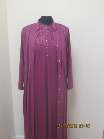 Laurel Nightgown & Morning Robe Set