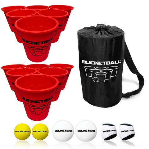Bullseye Yard Pong - Giant Beer Pong™ Edition - Combo Pack