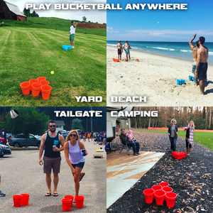 Places to play the BucketBall Beach Edition Combo Pack