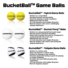 BucketBall™ - Bucket Pong™ Balls (2 Pack) - BucketBall