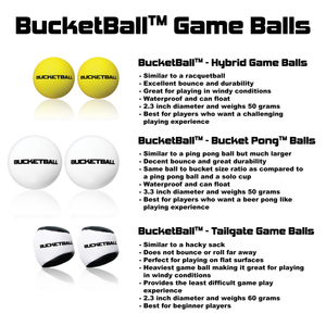 BucketBall™ - Beach Edition - Party Pack