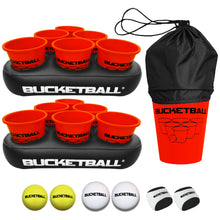All Orange Color BucketBall Party Pack