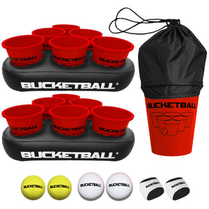 All Red Color BucketBall Party Pack